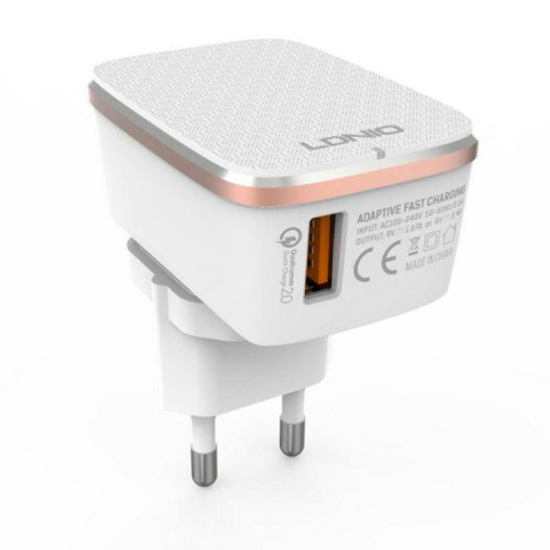 شارژر دیواری برند LDNIO مدل A1204Q