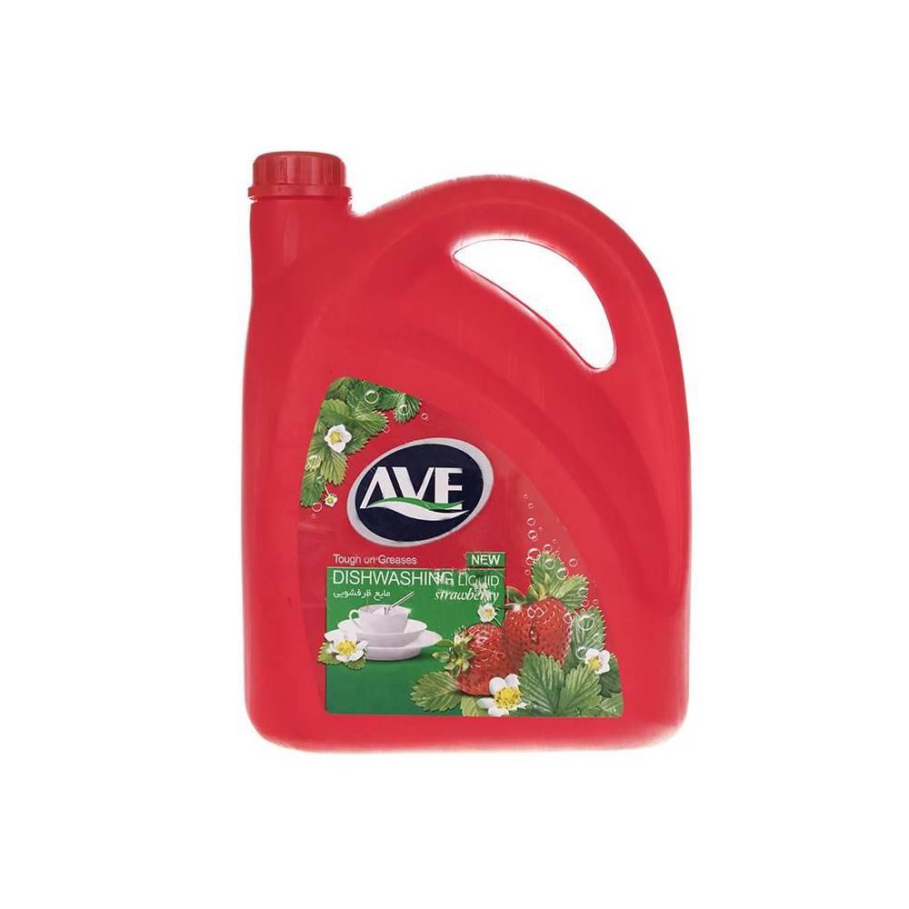 مایع ظرفشویی اوه مدل Strawberry