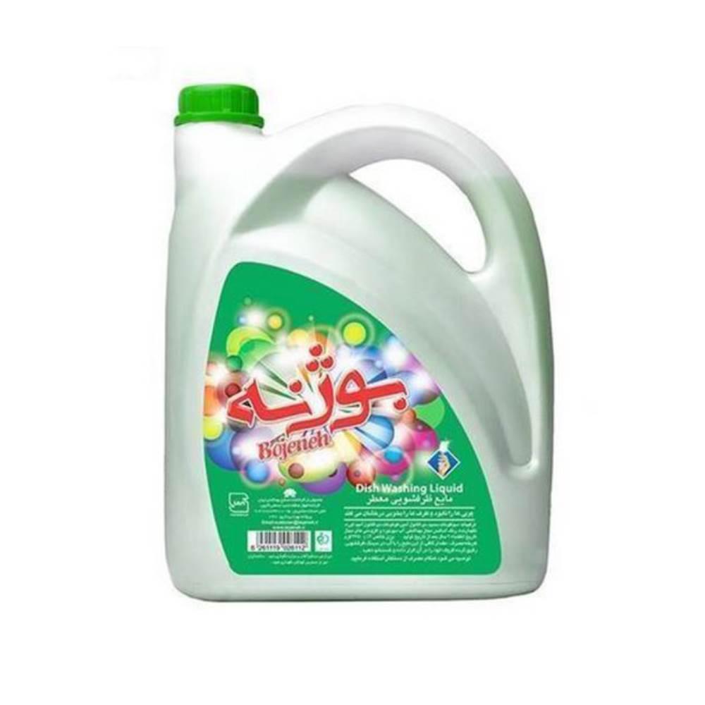 مایع ظرفشویی گالنی بوژنه مدل Green
