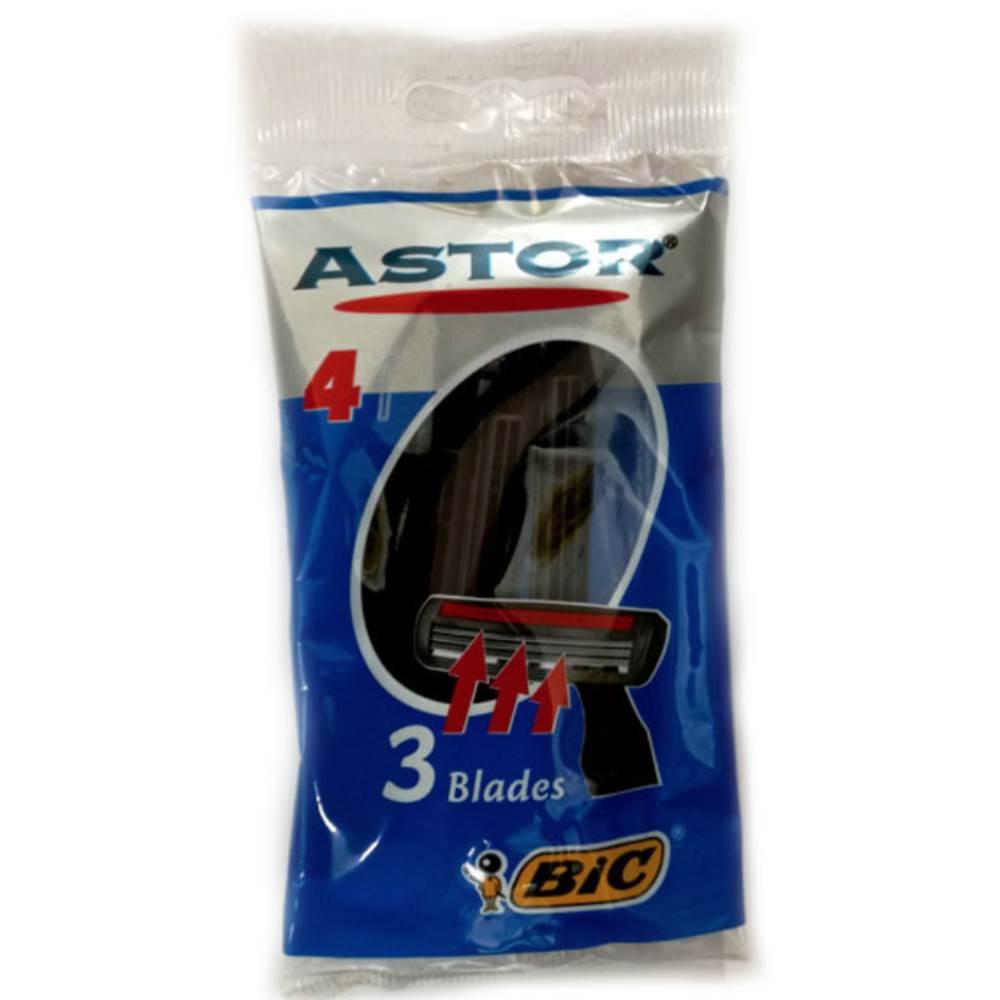 خودتراش بیک مدل Astor 3 بسته ۴ عددی