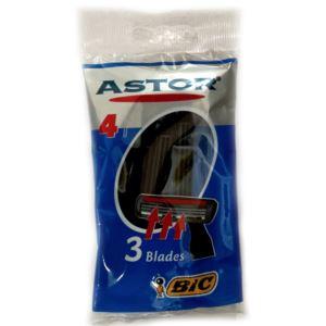 خود تراش بیک مدل Astor 3 بسته ۴ عددی