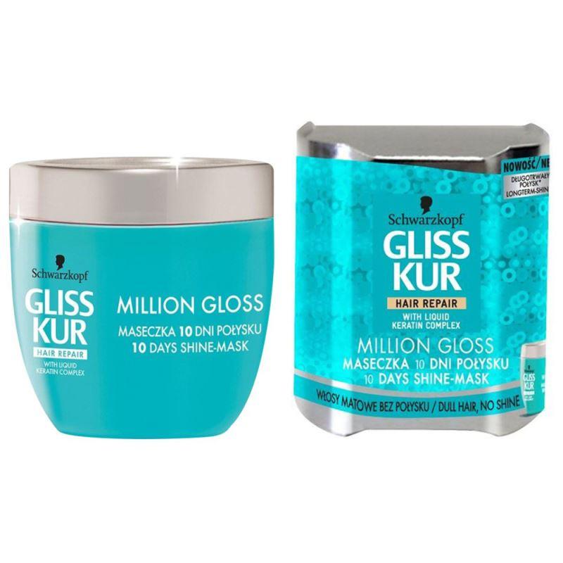 ماسک مو درخشان کننده Schwarzkopf مدل MILLION GLOSS