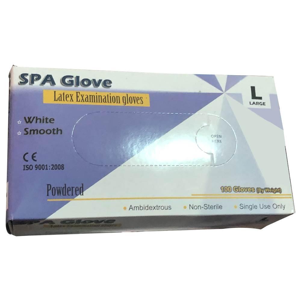 دستکش یکبار مصرف مدل SPA