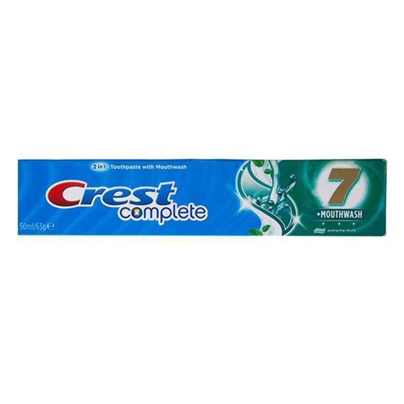 خمیر دندان کرست مدل C7+Mounth Wash تیوب 100 میلی لیتر