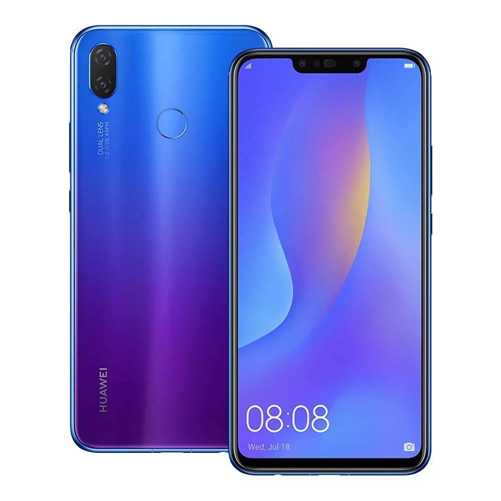 گوشی موبایل هوآوی مدل Nova 3i INE-LX1M دو سیم کارت ظرفیت 128 گیگابایت رنگ بنفش