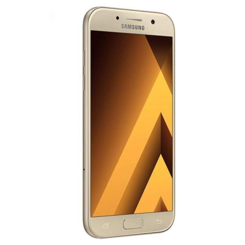 گوشی موبایل سامسونگ مدل Galaxy A5 2017 دو سیمکارت طلایی