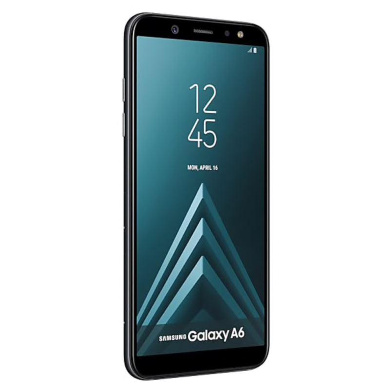 گوشی موبایل سامسونگ مدل Galaxy A6 دو سیمکارت با ظرفیت ۶۴ گیگابایت مشکی