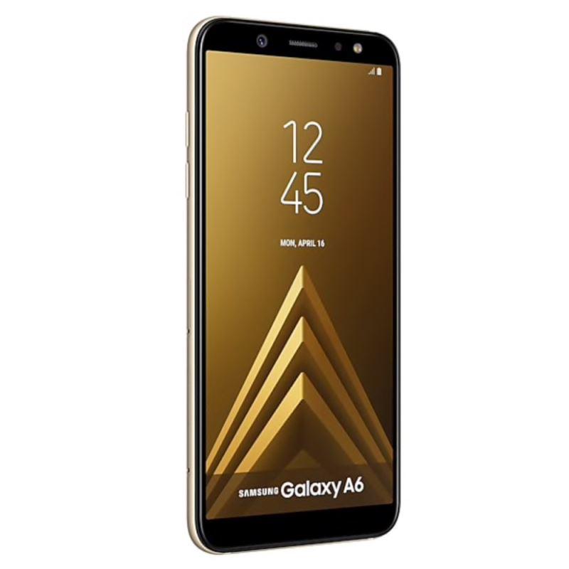 گوشی موبایل سامسونگ مدل Galaxy A6 دو سیمکارت با ظرفیت ۶۴ گیگابایت طلایی