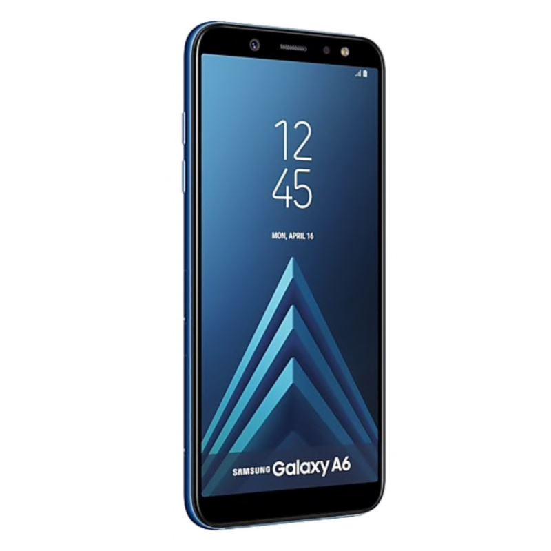 گوشی موبایل سامسونگ مدل Galaxy A6 دو سیمکارت با ظرفیت ۶۴ گیگابایت آبی