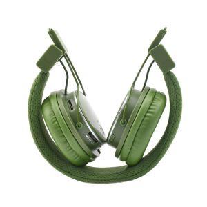 هدفون بی سیم نیا مدل Q8-851S  رنگ سبز