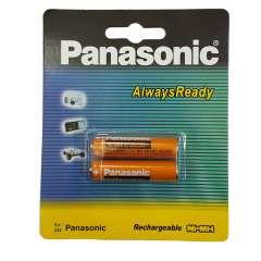 باتری نیم قلمی قابل شارژ پاناسونیک مدل HHR-3MRT/2BM