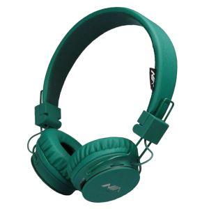 هدفون بی سیم نیا مدل X3 رنگ سبز یشمی