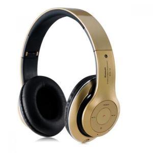 هدفون طرح Beats مدل STN-16 رنگ طلایی