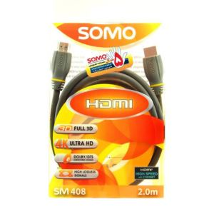 کابل HDMI سومو مدل SM408 به طول 2 متر