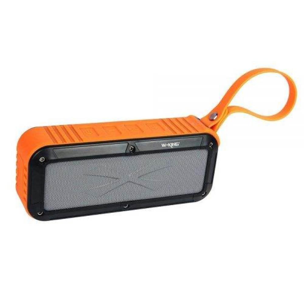 اسپیکر بلوتوثی دبلیو کینگ مدل S20 رنگ نارنجی