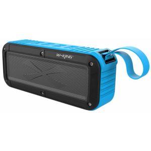 اسپیکر بلوتوثی دبلیو کینگ مدل S20 رنگ آبی