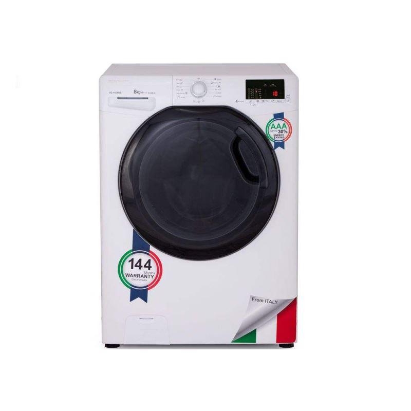 ماشین لباسشویی زیرووات مدل OZ-1183 ظرفیت 8 کیلوگرم