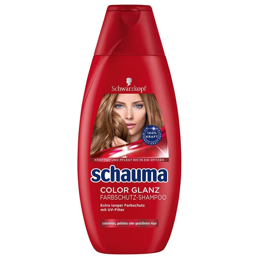 شامپو تثبیت کننده رنگ مو شوما مدل Color Shine حجم 400 میلی لیتر