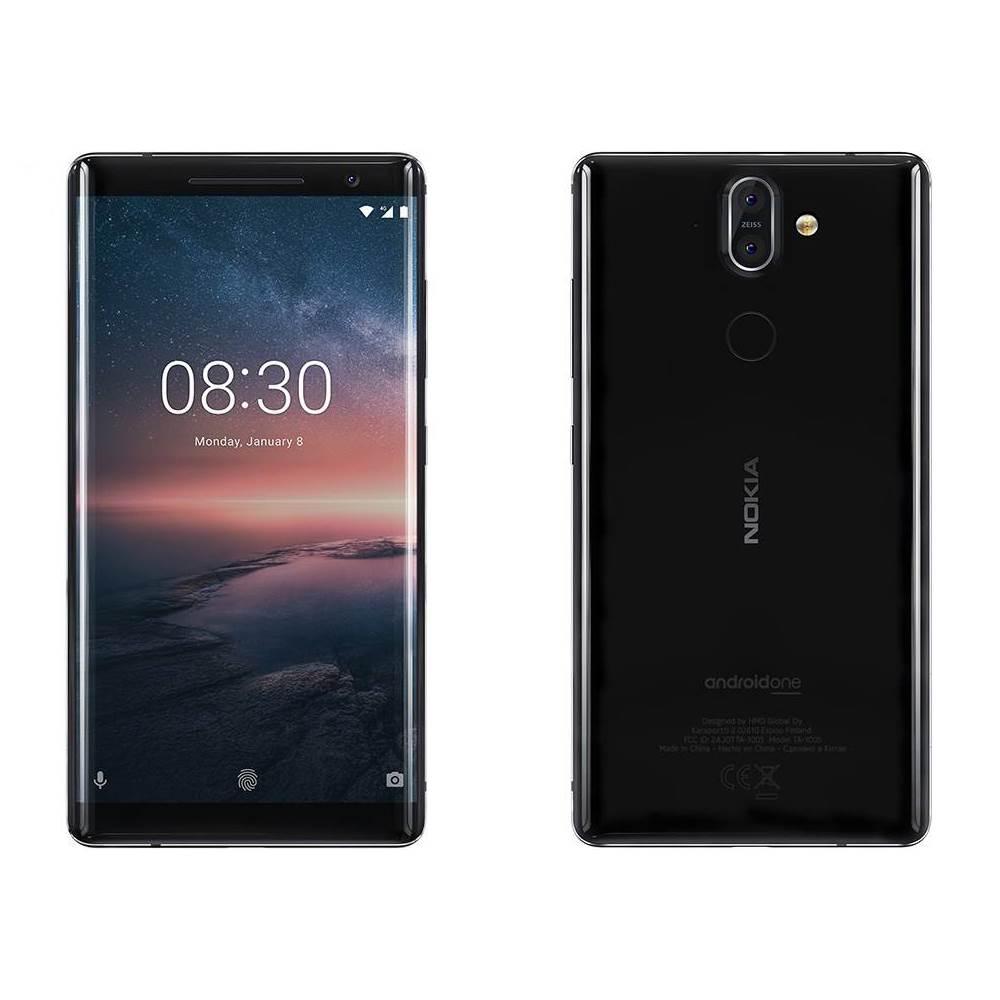 گوشی موبایل نوکیا مدل 8Sirocco ظرفیت 128 گیگابایت، مشکی