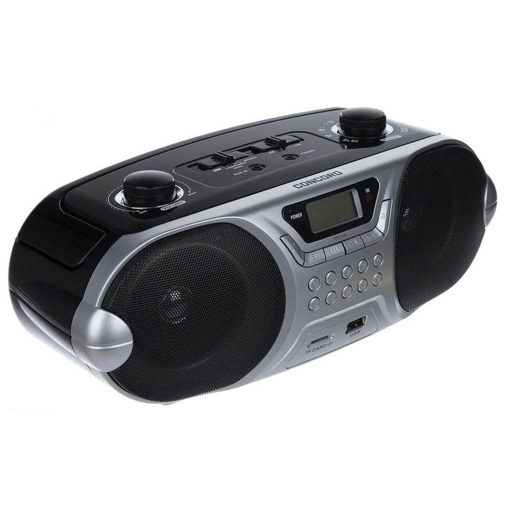 رادیو کنکورد مدل PS-318U  مشکی
