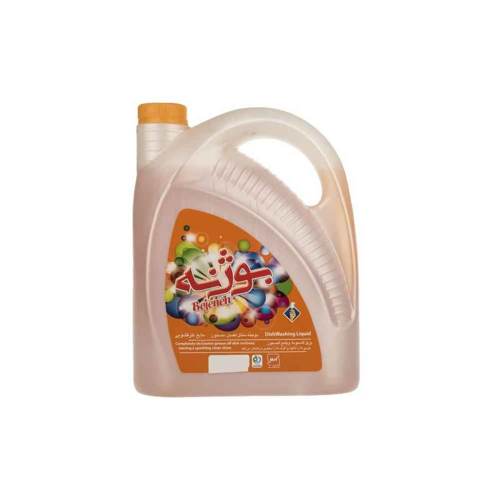 مایع ظرفشویی گالنی بوژنه مدل Orange حجم 3750 گرم