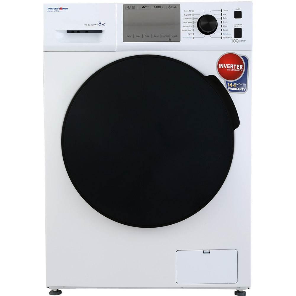 ماشین لباسشویی پاکشوما مدل TFI 83404 ظرفیت 8 کیلوگرم