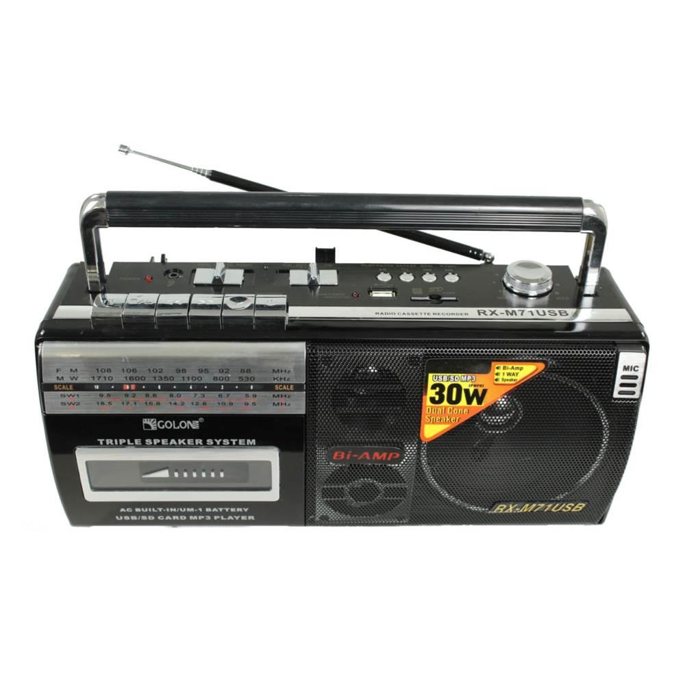 رادیو اسپیکر رم و فلش خور گولون مدل RX-M71