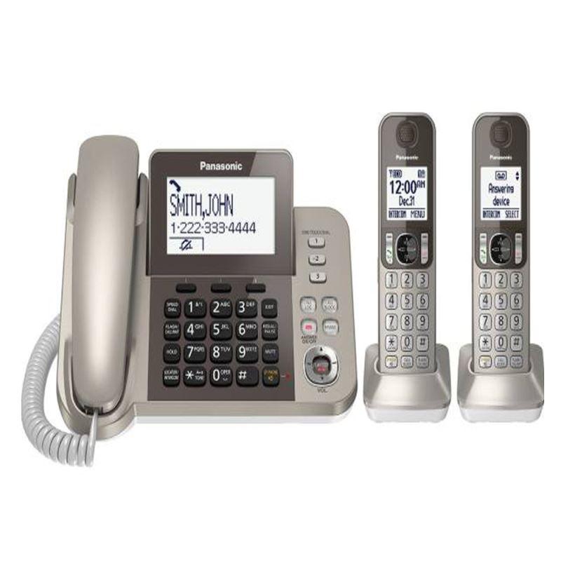 گوشی تلفن ثابت و بی سیم  پاناسونیک | Corded-Cordless Combo Telephone KX-TGF352