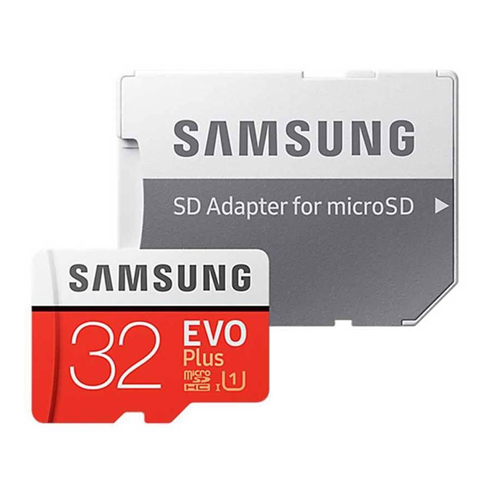 کارت حافظه microSDXC سامسونگ مدل Evo Plus کلاس 10 استاندارد UHS-I U1 سرعت 95MBps همراه با آداپتور SD ظرفیت 32 گیگابایت