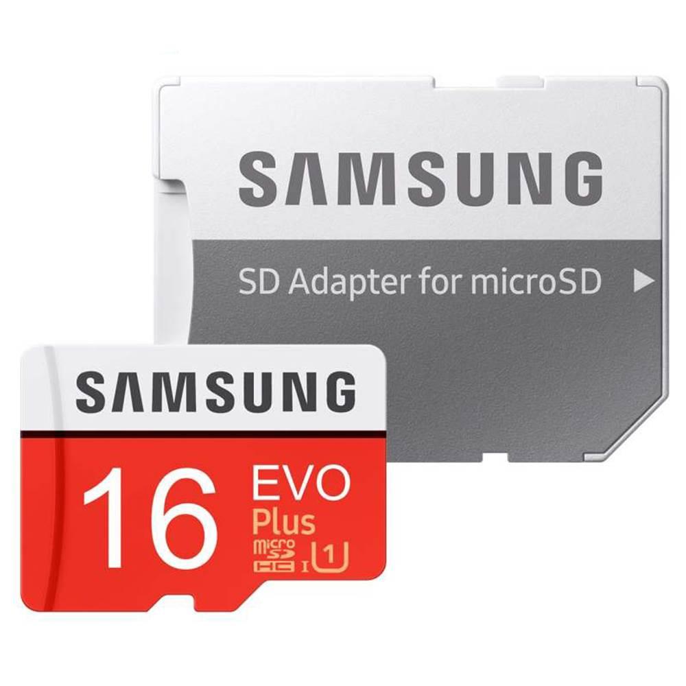 کارت حافظه microSDXC سامسونگ مدل Evo Plus کلاس 10 استاندارد UHS-I U1 سرعت 95MBps ظرفیت 16 گیگابایت به همراه آداپتور SD