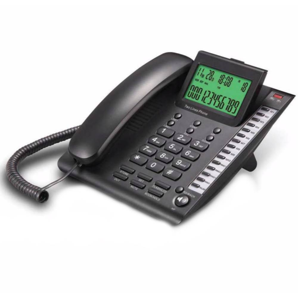 تلفن رومیزی دوخط سی اف ال CFL 7745