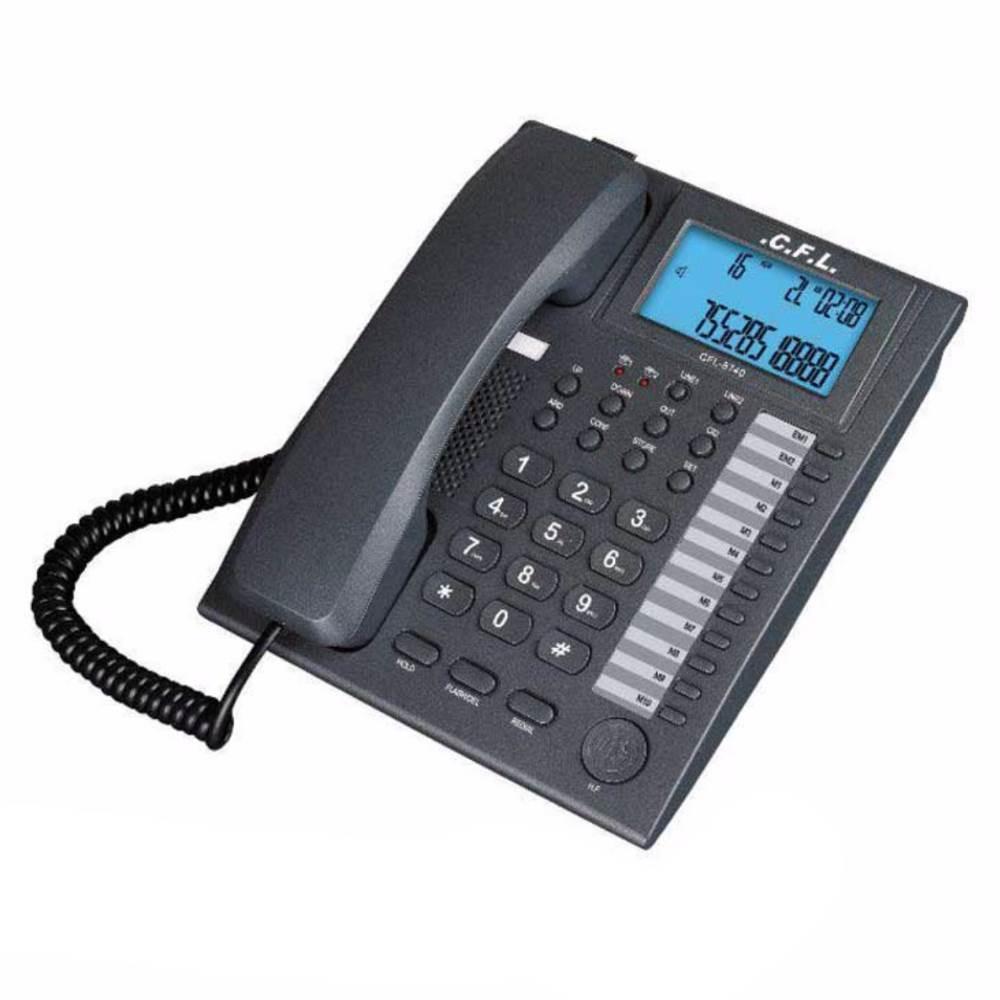 تلفن رومیزی دو خط سی اف ال CFL 8740