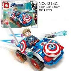 لگو اس وای سری SUPER HEROES 1314C