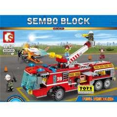 لگو سمبو بلاک سری  FIRE FRONTLINE 603039