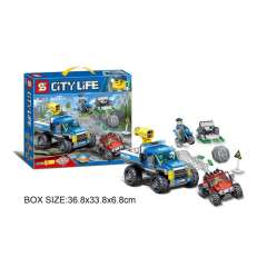 لگو اس وای سری City Life Dirt Road Pursuit 6962