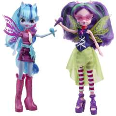 عروسک سوناتا داسک و آریا بلیز My Little Pony دختران اکوستریا راک رنگین کمان