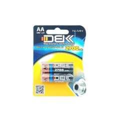 باتری شارژی قلمی دوتایی DBK ظرفیت 2700 میلی آمپر