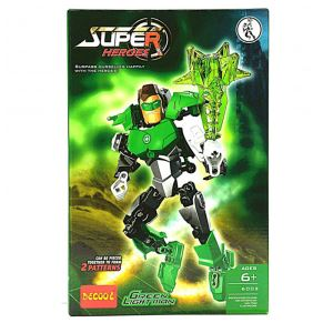 لگو Green Light Man دکول سری super heroes 6002