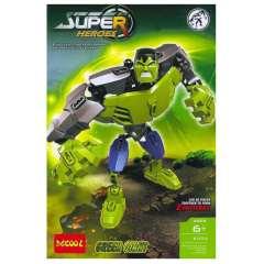لگو GREEN HULK دکول سری super heroes 6004