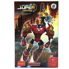 لگو IRON HERO دکول سری super heroes 6005