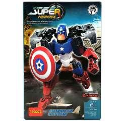 لگو American Captain دکول سری super heroes 6006