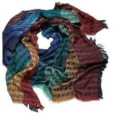 روسری لمه آبرنگی طرح گوچی