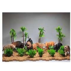 فیگور طرح حیوانات وحشی مدل Wild Park بسته 8 عددی