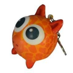 اسکویشی جاکلیدی حیوانات چشم قلمبه پلنگ نارنجی
