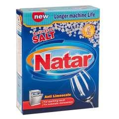 نمک ماشین ظرفشویی ناتار اکتیو شده بسته 2 کیلوگرمی
