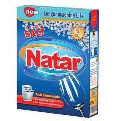 نمک ماشین ظرفشویی ناتار اکتیو شده بسته 1 کیلوگرمی