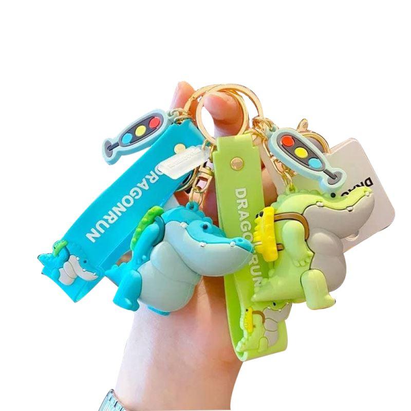 جاکلیدی سیلیکونی تمساح با کوله پشتی DR0631